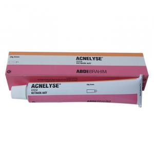 Acnelyse Cream - retinoic acid - Abdi Ibrahim, Turkey