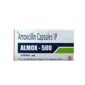 Almox 500 mg  - Amoxycillin - Alkem Laboratories Ltd.