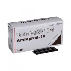 Amlopress 10 mg  - Amlodipine - Cipla, India