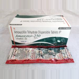 Amoxytor 250 mg  - Amoxycillin - Johnlee Pharmaceutical Pvt. Ltd.