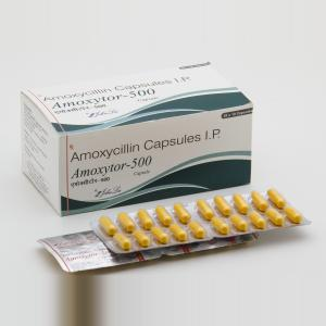 Amoxytor 500 mg  - Amoxycillin - Johnlee Pharmaceutical Pvt. Ltd.
