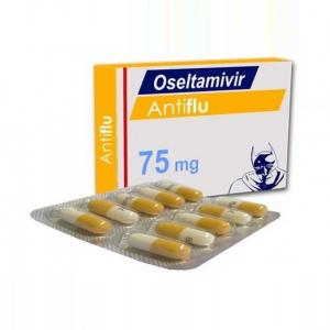Antiflu 75mg - Oseltamivir - Cipla, India