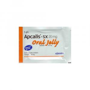 Apcalis SX Oral Jelly - Tadalafil - Ajanta Pharma, India