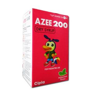 Azee Rediuse 200 mg - Azithromycin - Cipla, India