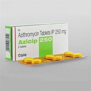 Azicip 250 mg  - Azithromycin - Cipla, India