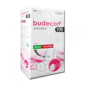 Budecort Inhaler 100 mcg - Budesonide - Cipla, India