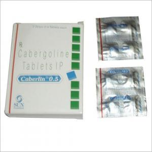 Caberlin 0.5 mg  - Cabergoline - Sun Pharma, India