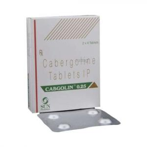 Cabgolin 0.25 mg - Cabergoline - Sun Pharma, India