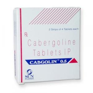 Cabgolin 0.5mg - Cabergoline - Sun Pharma, India