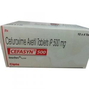 Cefasyn 500 mg - Cefuroxime - Cipla, India