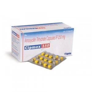 Cipmox 250 mg  - Amoxycillin - Cipla, India