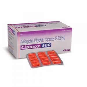 Cipmox 500 mg  - Amoxycillin - Cipla, India