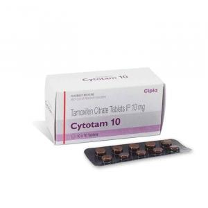 Cytotam 10 mg - Tamoxifen - Cipla, India