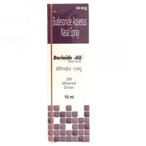 Derinide AQ Nasal Spray 10 ml - Budesonide - German Remedies