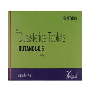 Dutanol 0.5 mg - Dutasteride - Knoll Healthcare Pvt. Ltd.