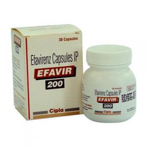Efavir 200 mg - Efavirenz - Cipla, India