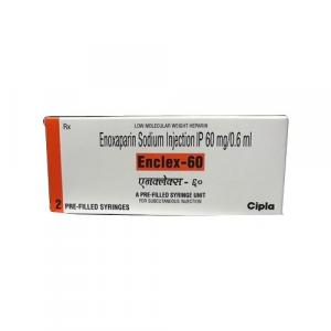 Enclex Injection 60 mg - Enoxaparin - Cipla, India