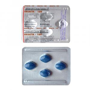 Eriacta 100 mg - Sildenafil Citrate - Ranbaxy, India