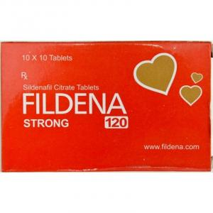 Fildena Strong 120 mg  - Sildenafil Citrate - Fortune Health Care