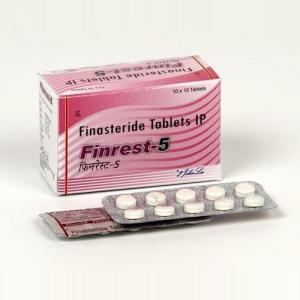 Finrest 5 mg - Finasteride - Johnlee Pharmaceutical Pvt. Ltd.