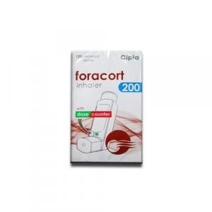 Foracort Inhaler 200 mcg  - Budesonide - Cipla, India