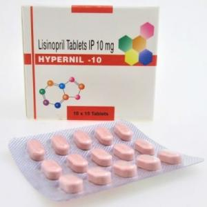 Hypernil 10 mg  - Lisinopril - Lupin Ltd.