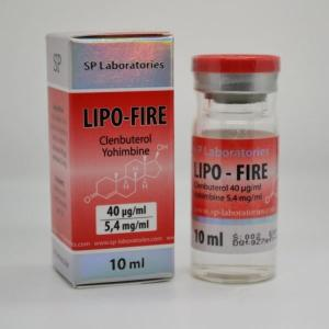 SP Lipo-Fire - Clenbuterol - SP Laboratories