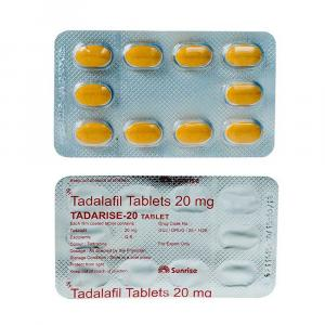 Tadarise 20 mg - Tadalafil - Sunrise Remedies